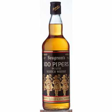 Whisky 100 Pipers 750 cc